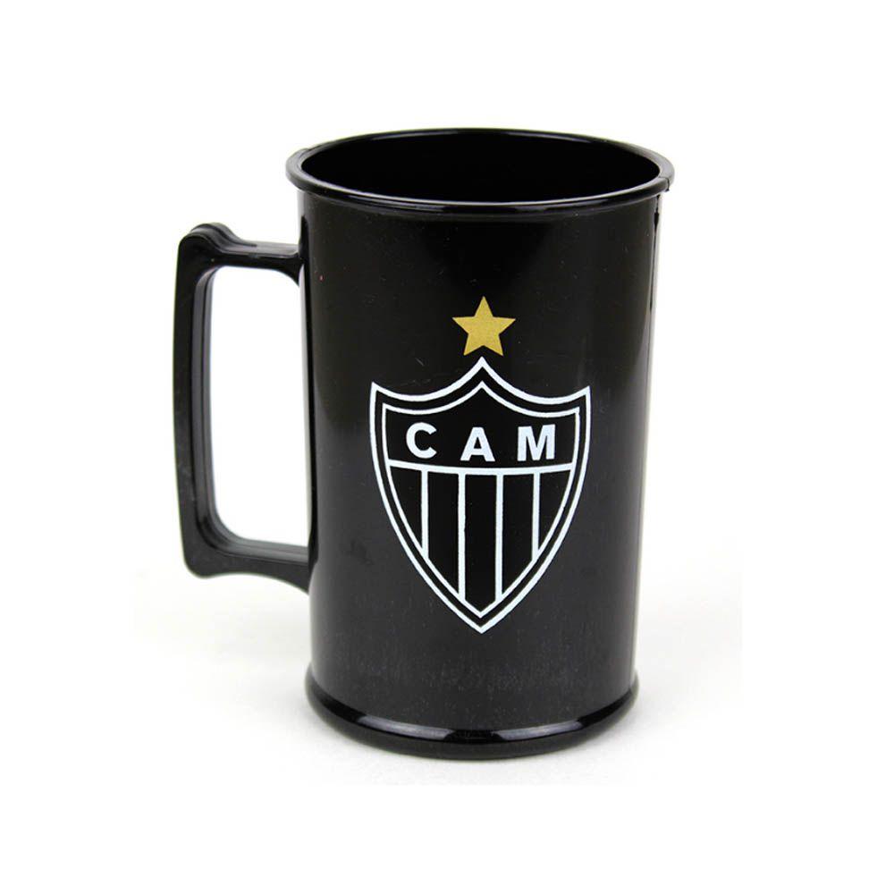 Caneca Acrílica - 400 ml - Atlético Mineiro - Pentagol  - Loja do Competidor