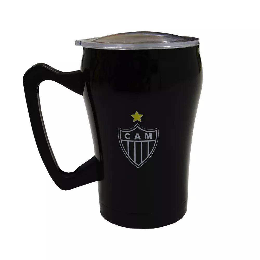 Caneca Inox - Clubes - 350 ml - QH029A - Atlético Mineiro- Pentagol
