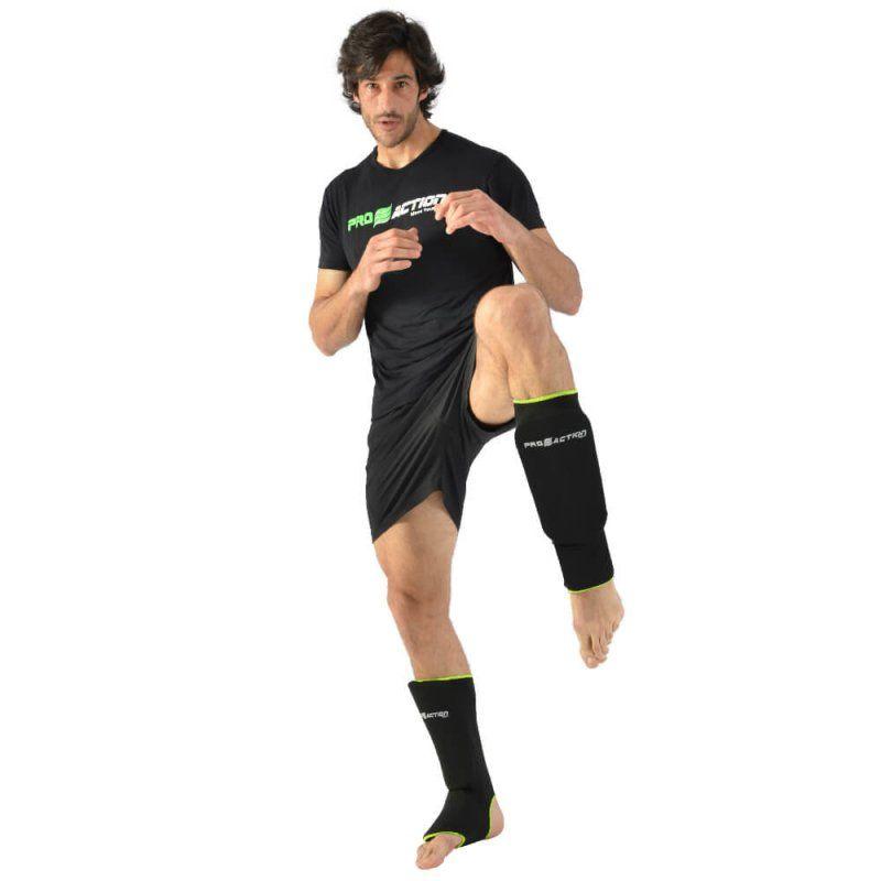 Caneleira de Elastano - Oficial Kickboxing - Pro Action -  - Loja do Competidor