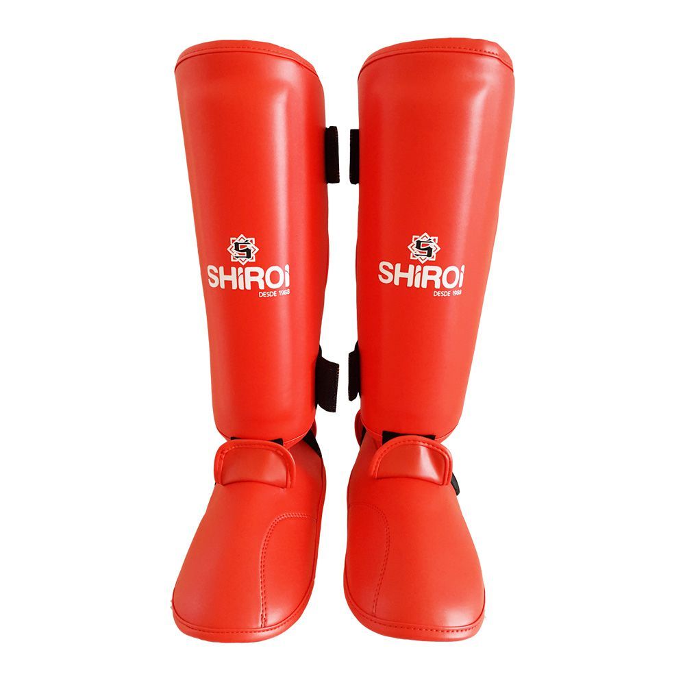 Caneleiras Karate com peito de pé removível- Oficial - Shiroi .