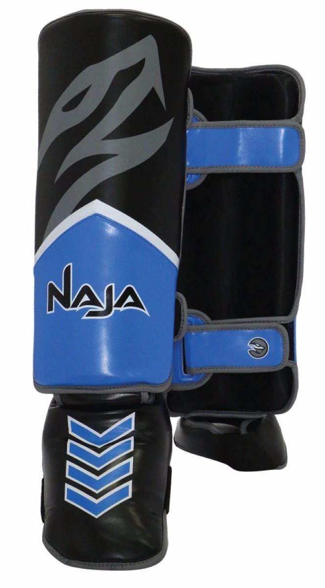 Caneleiras Kick Boxing/Muay Thai - Profissional - Naja New Extreme