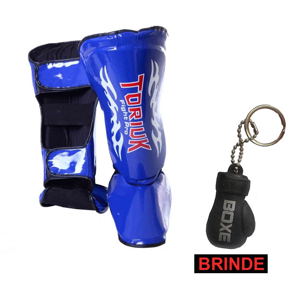Caneleiras Kick Boxing/Muay Thai Tribal  + Chaveiro Mini Luvas - Toriuk  - Loja do Competidor