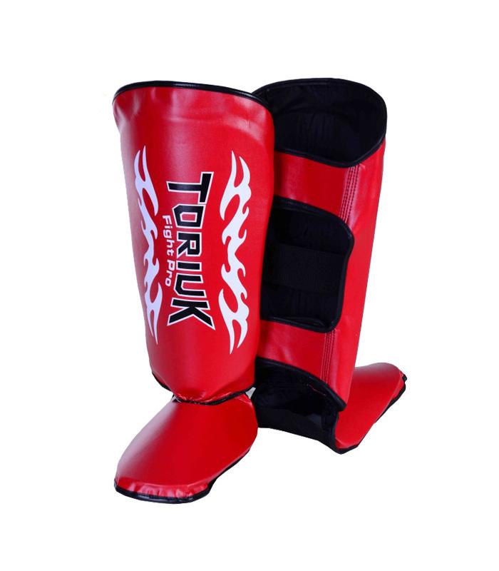 Caneleiras Kick Boxing/Muay Thai Tribal com Peito de Pé Fixo - Profissional - Toriuk - Frete Grátis