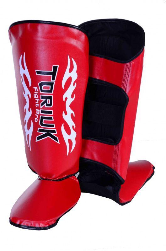 Caneleiras Kick Boxing Muay Thai Tribal com Peito de Pé Fixo - Toriuk  - Loja do Competidor