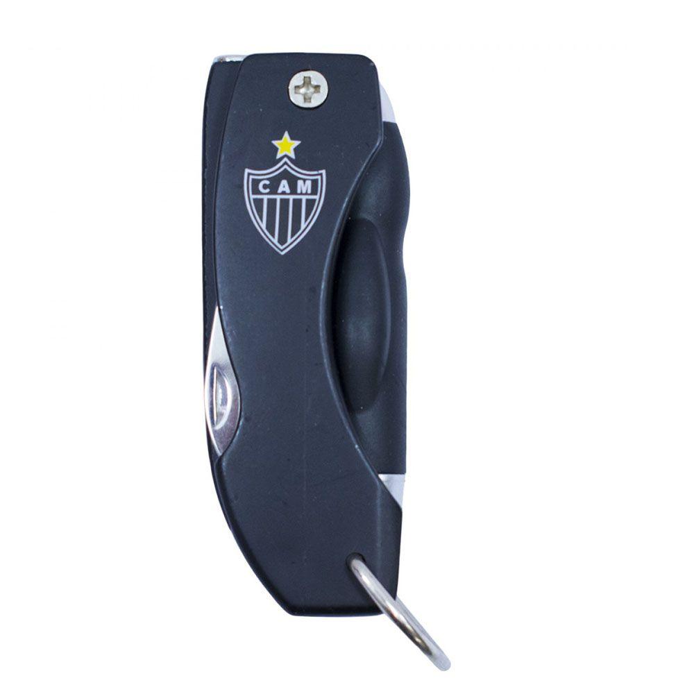 Canivete Abridor de Garrafas com Caneta e Lanterna - Atlético Mineiro