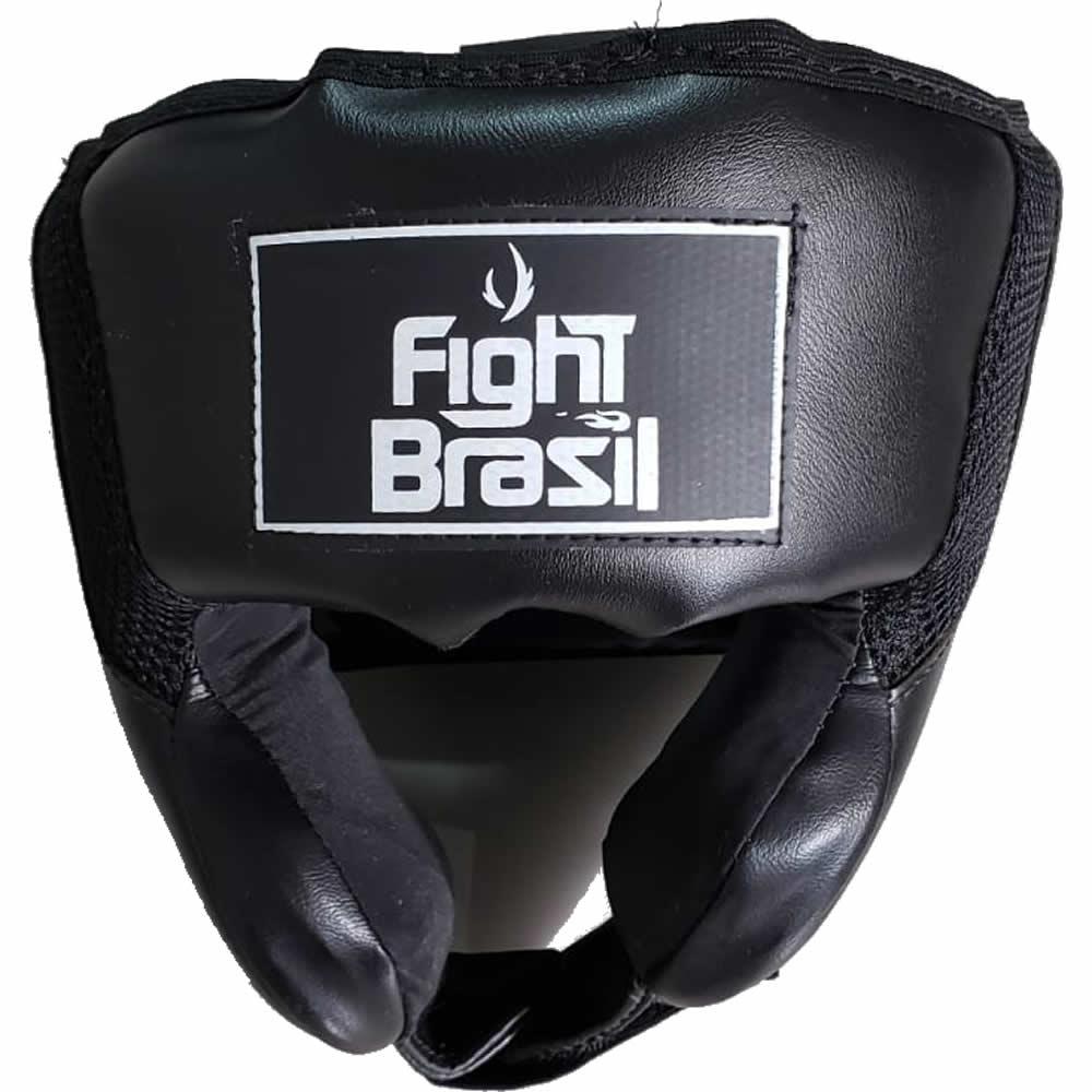 Capacete Interestilo Muay Kick Boxe - Preto - Fbr - Unid