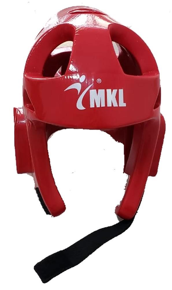 Capacete Taekwondo Injetado Azul / Verm - Adulto - MKL - Unid  - Loja do Competidor