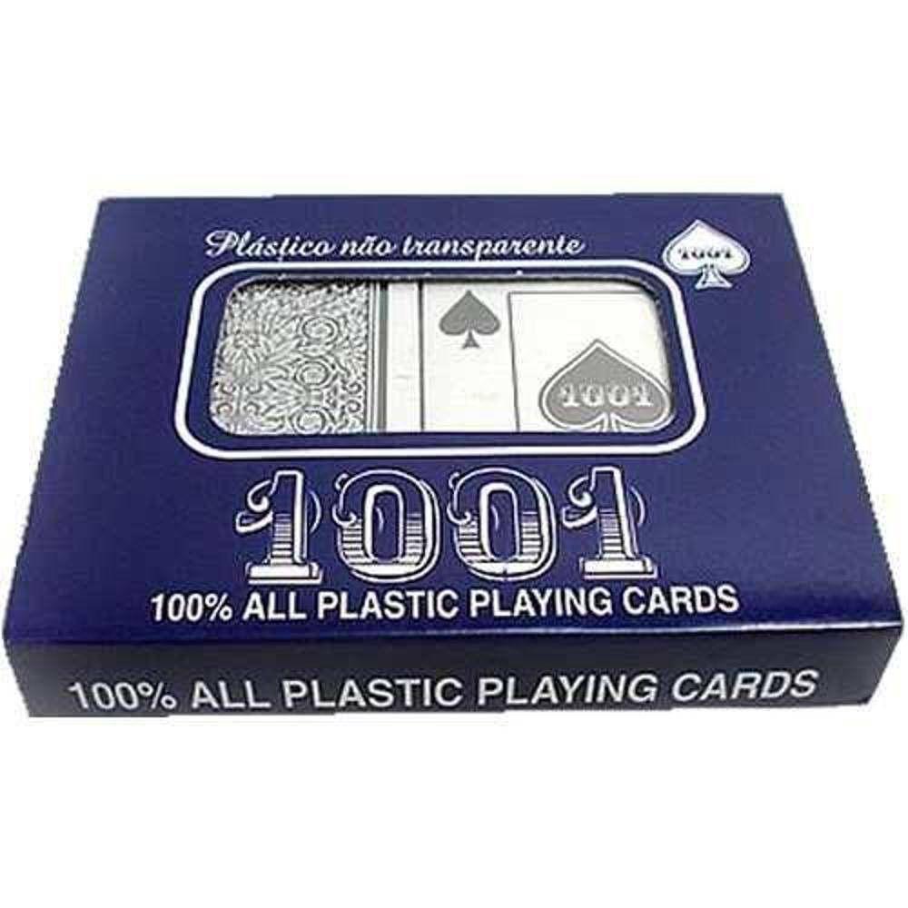 Kit com 2 Baralhos - Cartas de Truco/Poker - Copag 1001 - Plástico - Copag  - Loja do Competidor