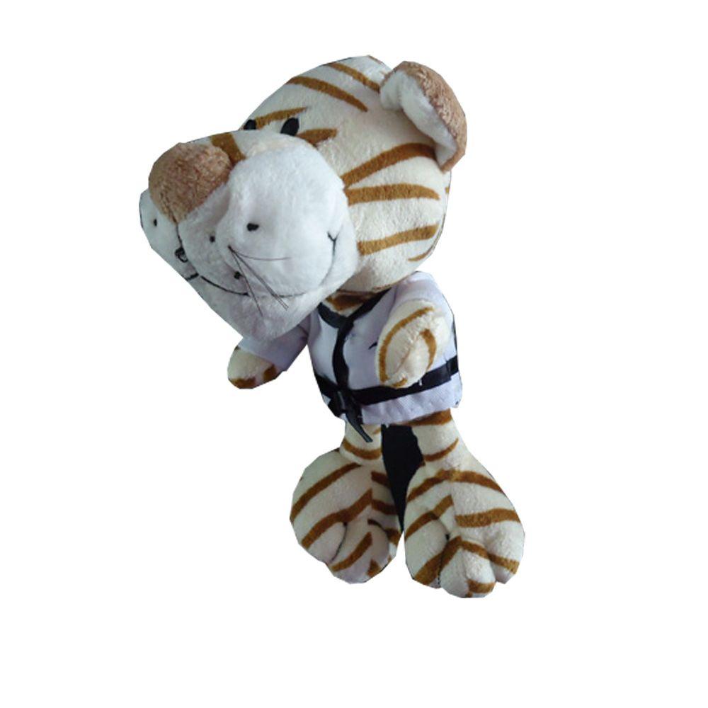 Chaveiro Mascote Pelucia Taekwondo - MKL  - Loja do Competidor