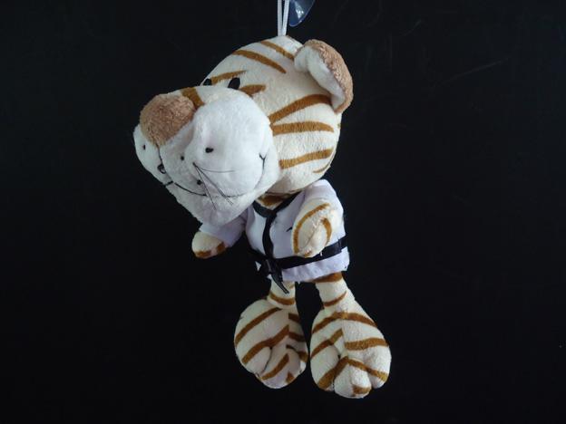 Chaveiro Mascote Taekwondo - MKL  - Loja do Competidor