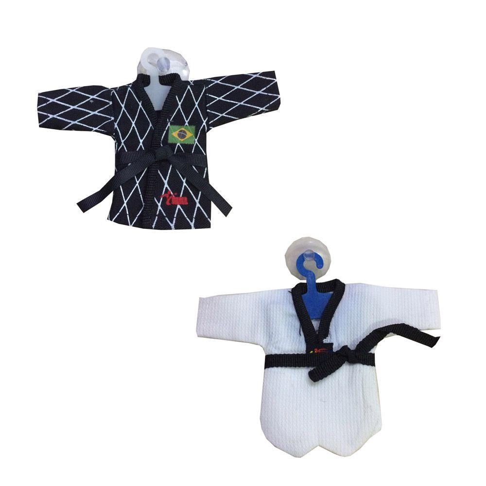 Chaveiro Mini Dobok / Kimono- Taekwondo
