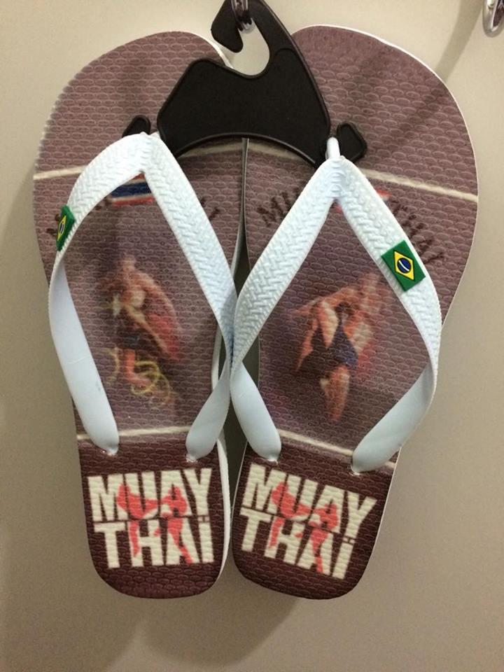 Chinelo de dedo - Muay Thai - Knee -  Toriuk  - Loja do Competidor