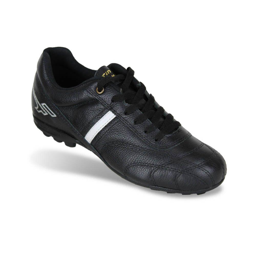 Chuteira para Futsal Society - Pro Magna - Couro- SM6P - Finta - Adulto