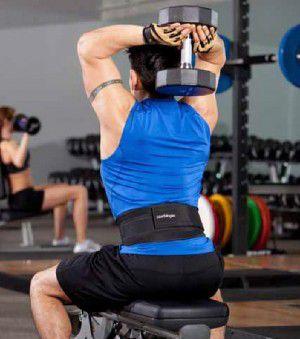 Cinto de Proteção Lombar para Musculação e Esportes Afins -  - Loja do Competidor