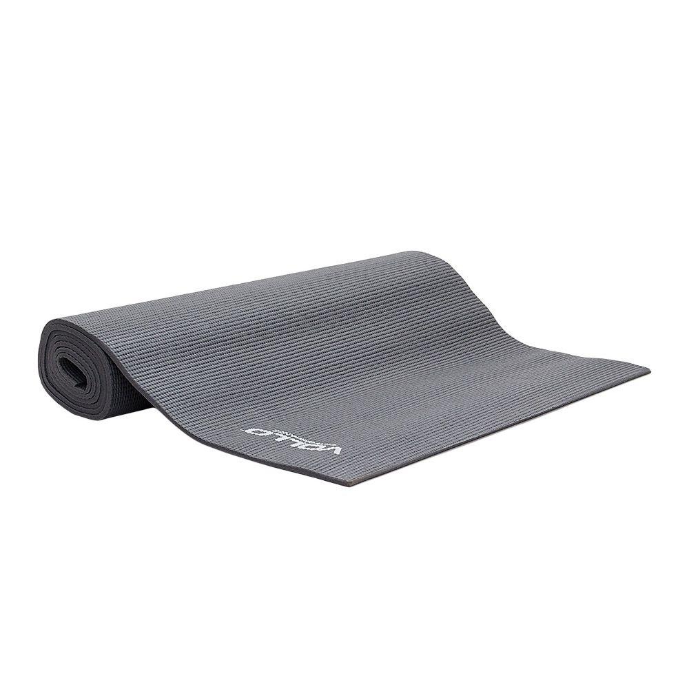 Colchonete Tapete Para Yoga - VP1038 -  Cinza - Vollo  - Loja do Competidor