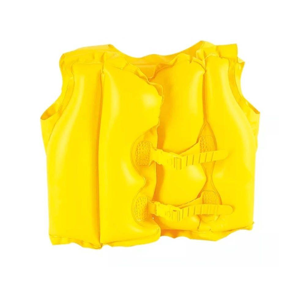 Colete Inflável / Bóia - Natação - 001822 - Amarelo - Infantil - Mor  - Loja do Competidor