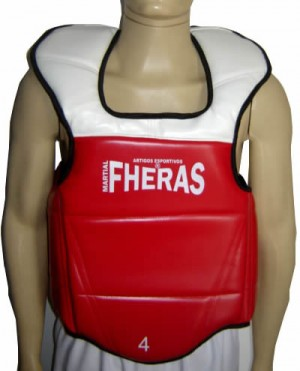 Colete Protetor de Tórax - Cordas - WTF - Fheras  - Loja do Competidor