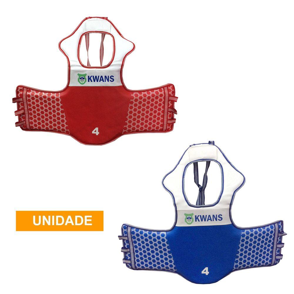 Colete Protetor de Tórax Eletrônico - Taekwondo - Kwans - Unid