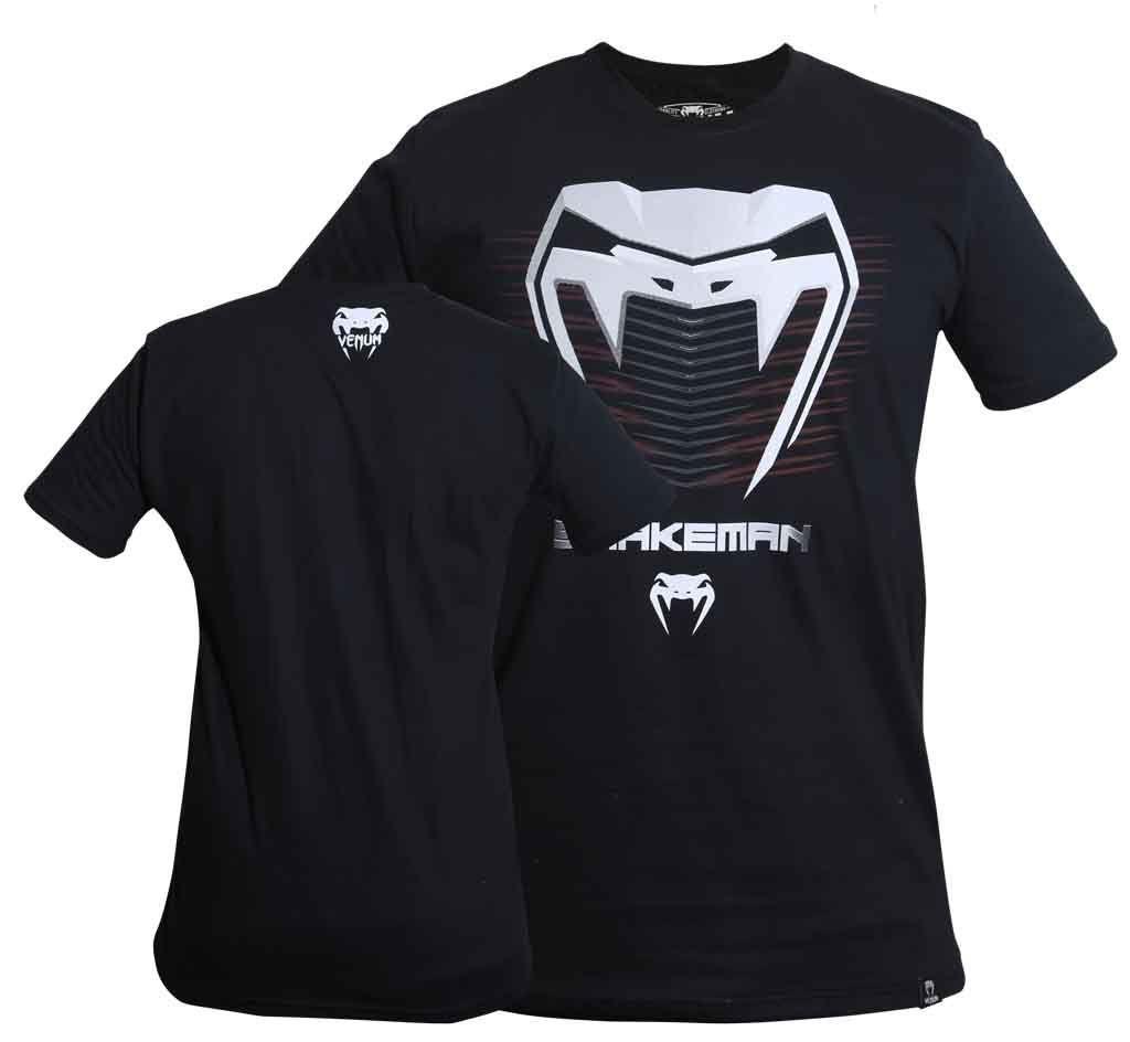 Camisa Camiseta Snakeman - Preto - Venum -