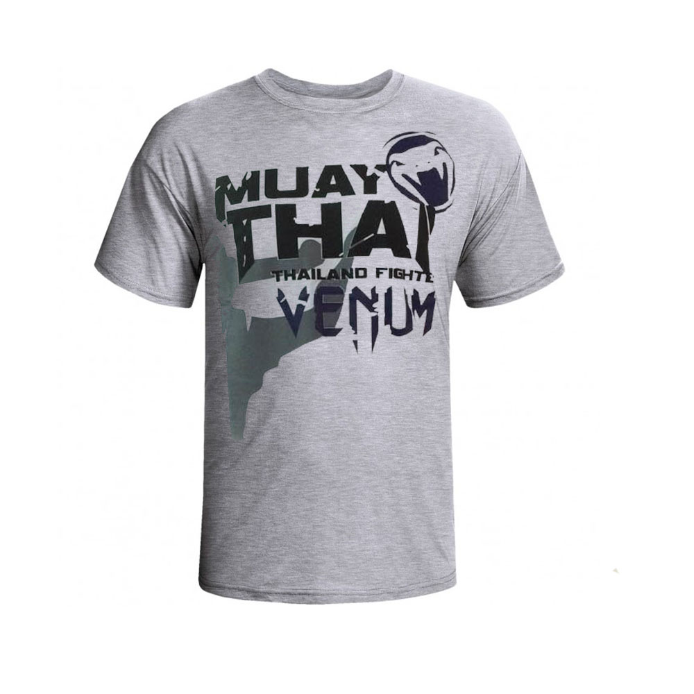 Camisa/Camiseta - Thailand Fight - Cinza - Venum .