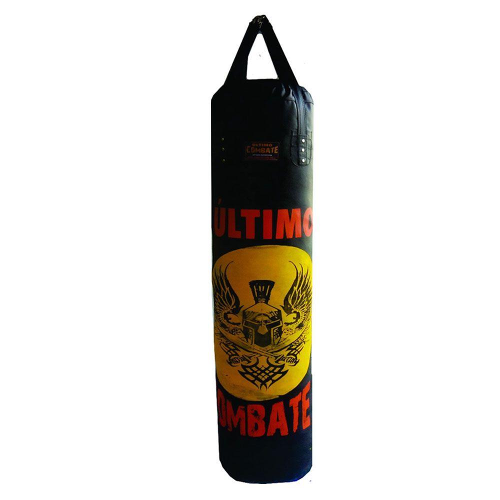 Saco de Pancadas Elite - Lona Náutica - Cheio - 1,20m - UC  - Loja do Competidor