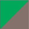Marrom / Verde