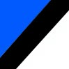 Branco - Azul - Preto
