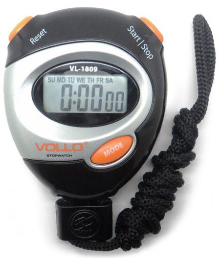 Cronômetro Progressivo -Vollo - VL1809  - Loja do Competidor