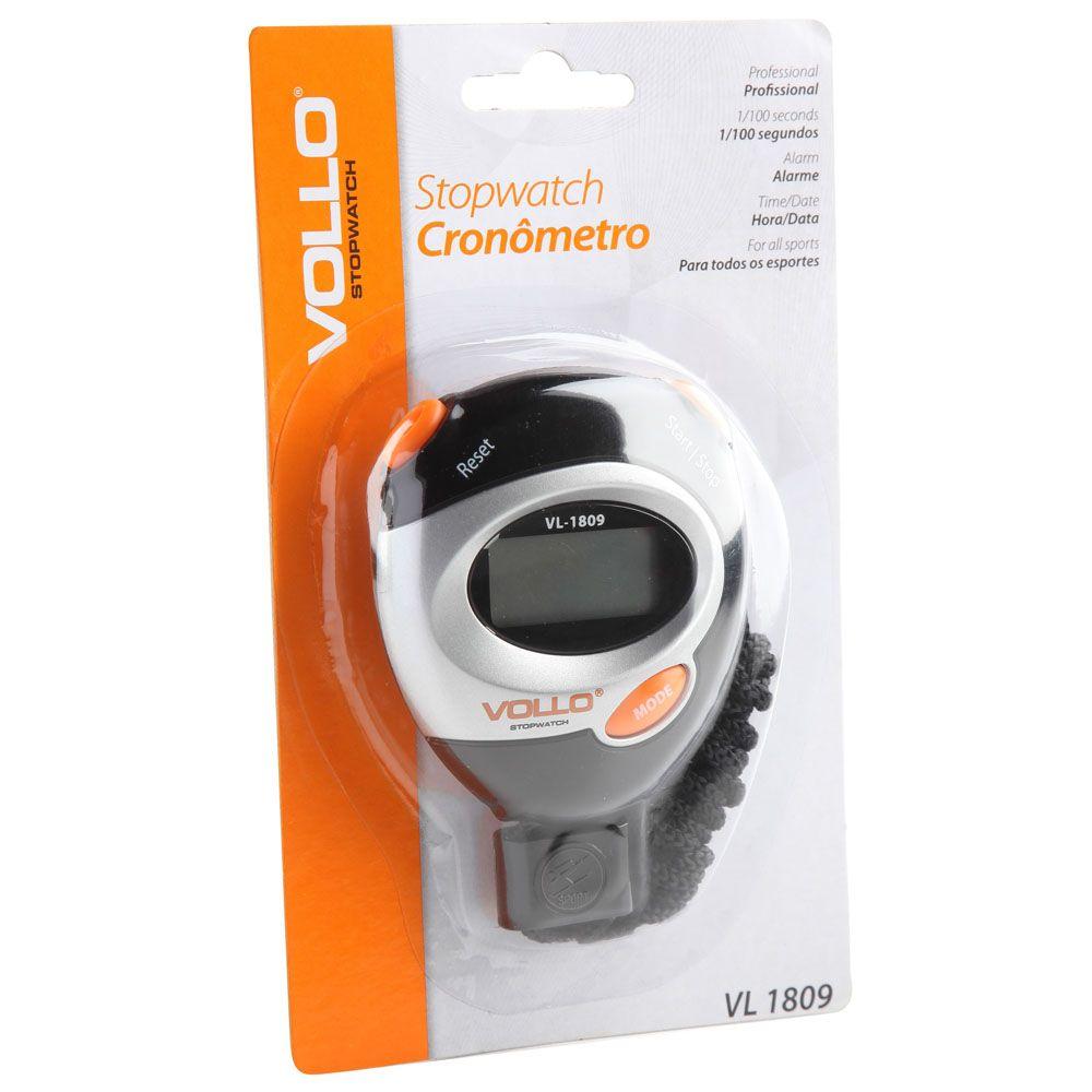 Cronômetro Progressivo - Vollo - VL1809  - Loja do Competidor