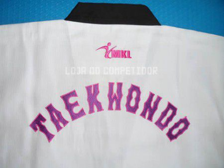 Dobok Canelado Taekwondo Branco - Feminino - Adulto - MKL -