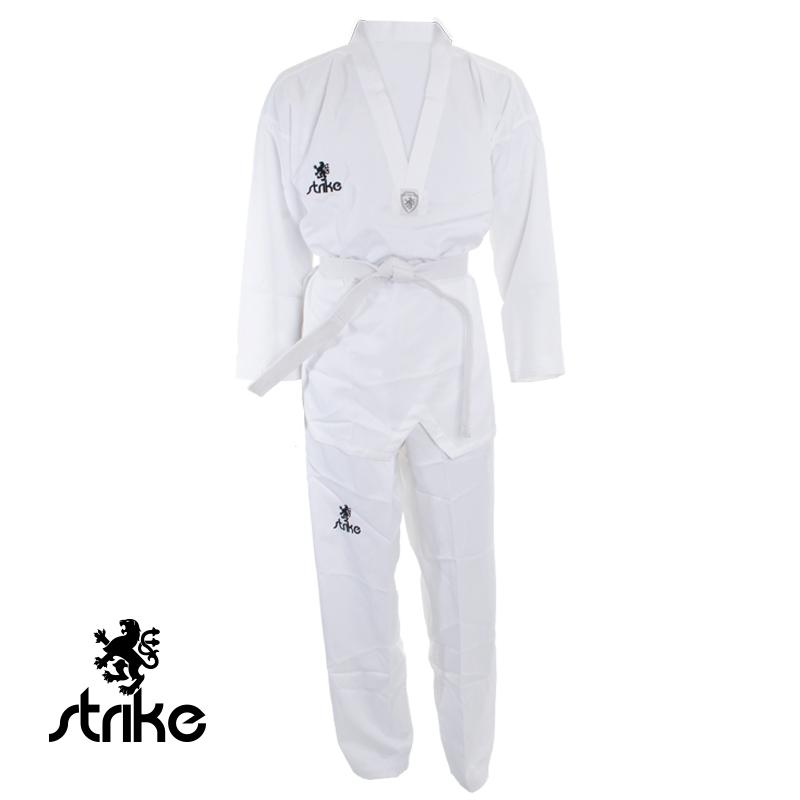Dobok Canelado de Competi��o - Taekwondo - Strike