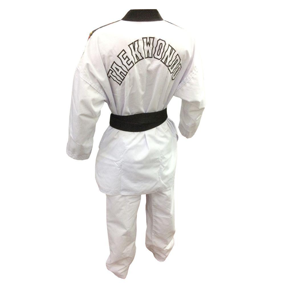 Dobok / Kimono Canelado Olimpic - Taekwondo - Adulto - com Faixa - Sung Ja .  - Loja do Competidor