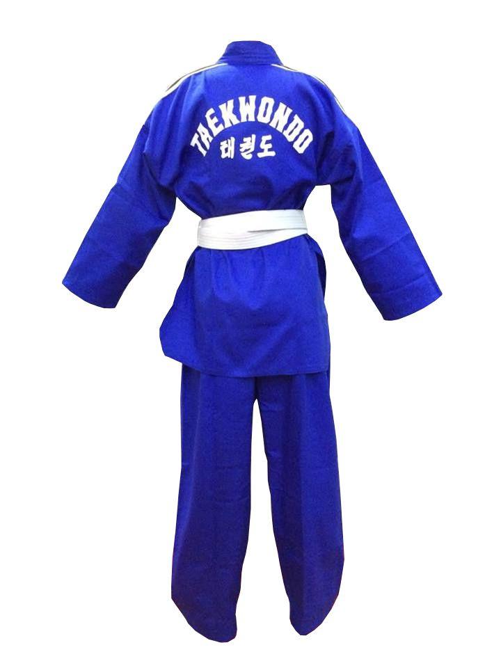 Dobok / Kimono Taekwondo - Brim Leve - Azul - Adulto - Sung Ja