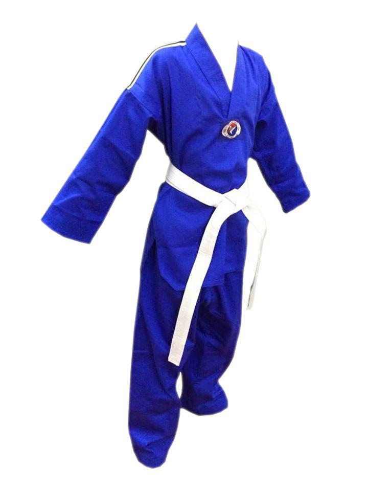 Dobok / Kimono Taekwondo - Brim Leve - Azul - Adulto - Sung Ja  - Loja do Competidor
