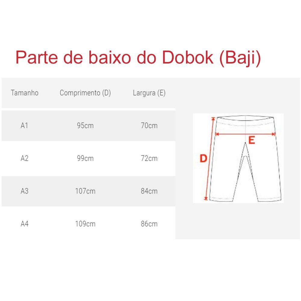 Dobok / Kimono Taekwondo - Brim Leve - Preto - Adulto - Sung Ja  - Loja do Competidor