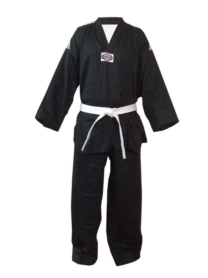 Dobok / Kimono Taekwondo - Brim Leve - Preto - Infantil - Sung Ja  - Loja do Competidor
