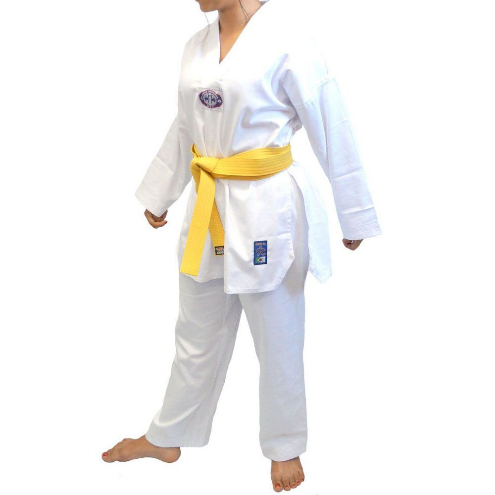 Dobok/Kimono Taekwondo - Leve Com Faixa- Infantil - Sung Ja .