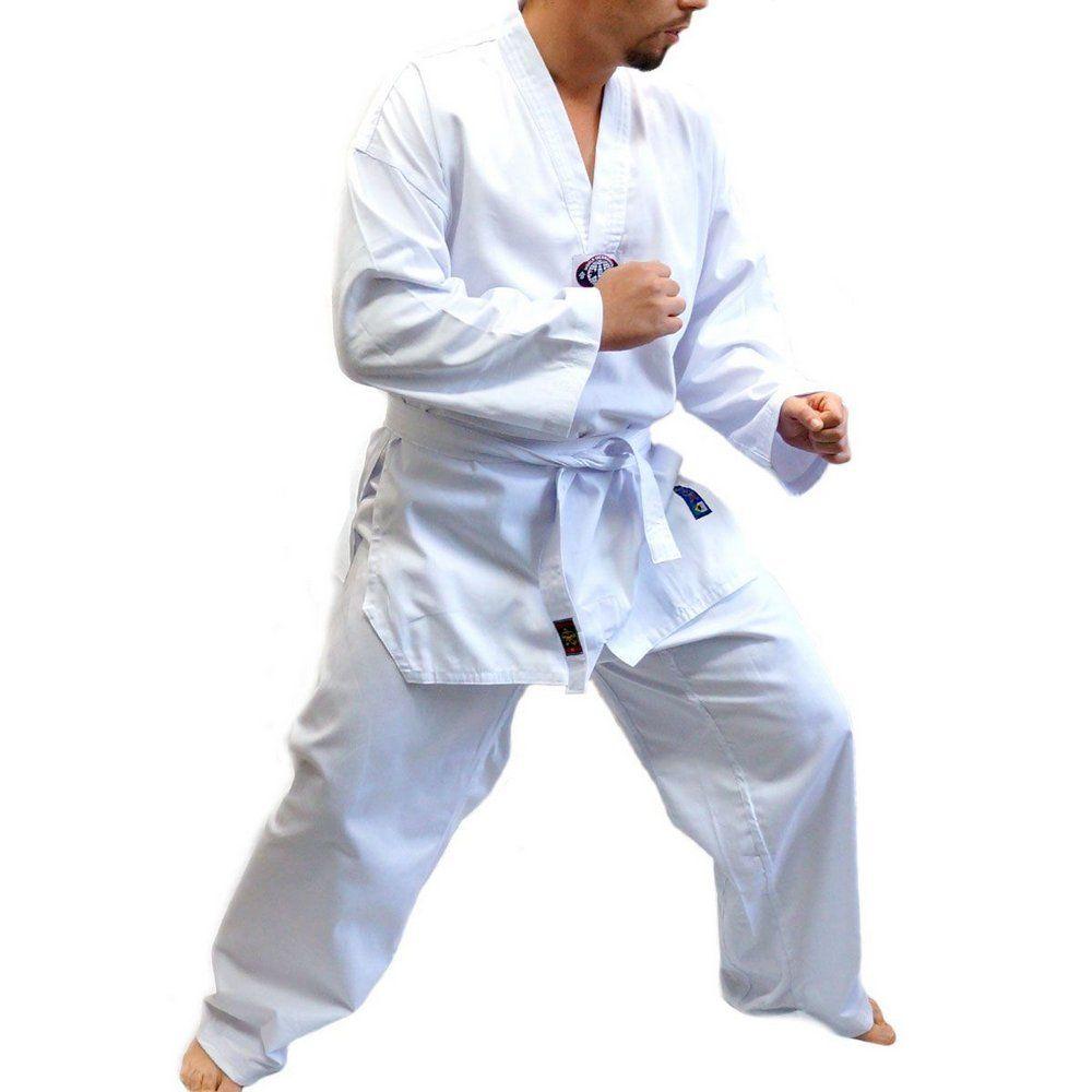 Dobok / Kimono Taekwondo - Leve Com Faixa- Taekwondo - Adulto - Sung Ja .