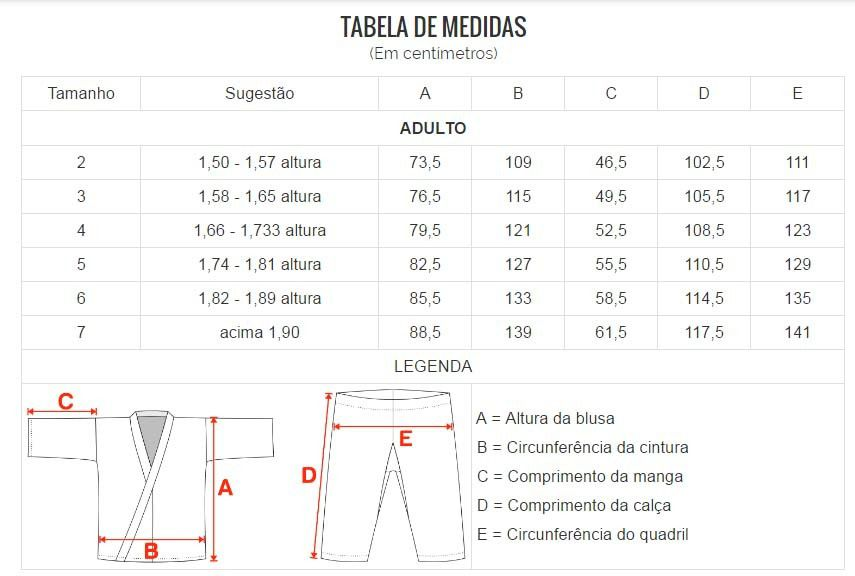 Dobok / Kimono Taekwondo Light - Branco - Adulto - Shiroi  - Loja do Competidor