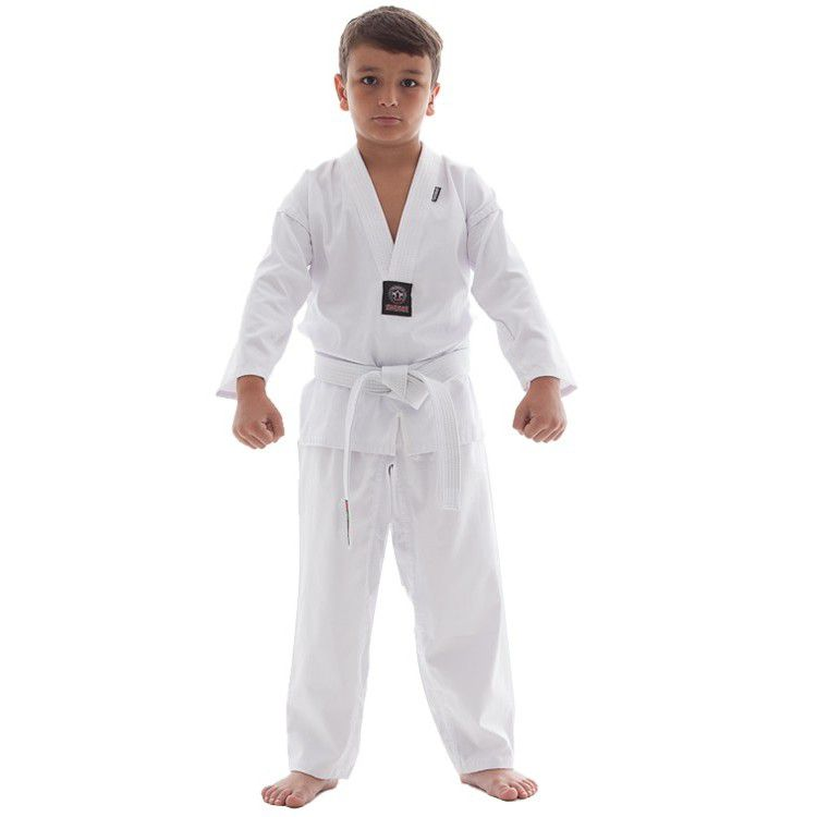 Dobok / Kimono Taekwondo Light - Branco - Infantil- Shiroi