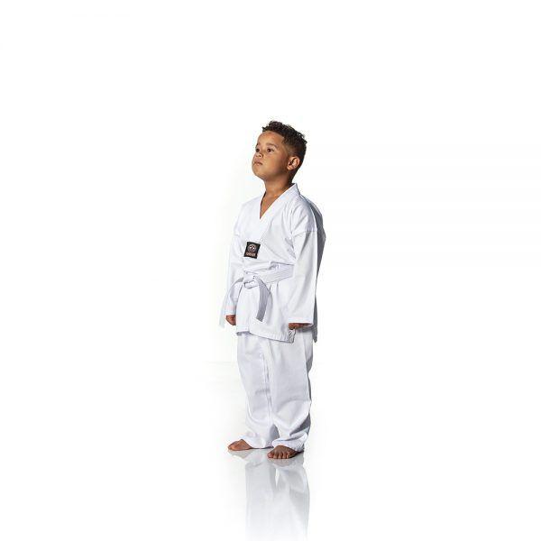 Dobok / Kimono Taekwondo Light - Branco - Infantil- Shiroi  - Loja do Competidor