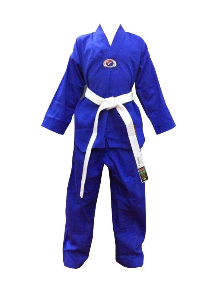 Dobok / Kimono Taekwondo - Brim Leve - Azul - Infantil - Sung Ja