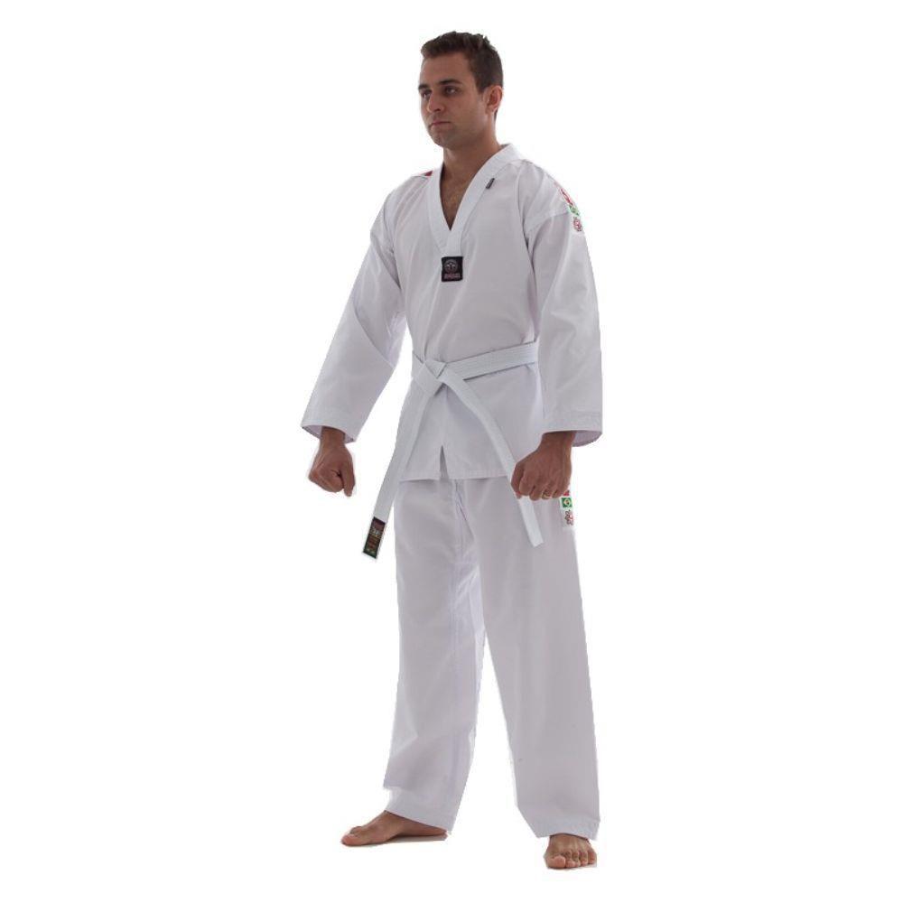 Dobok / Kimono Taekwondo Start - Branco - Adulto - Shiroi