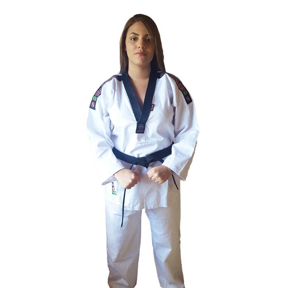 Dobok / Kimono Taekwondo Start - Branco - Adulto - Shiroi  - Loja do Competidor