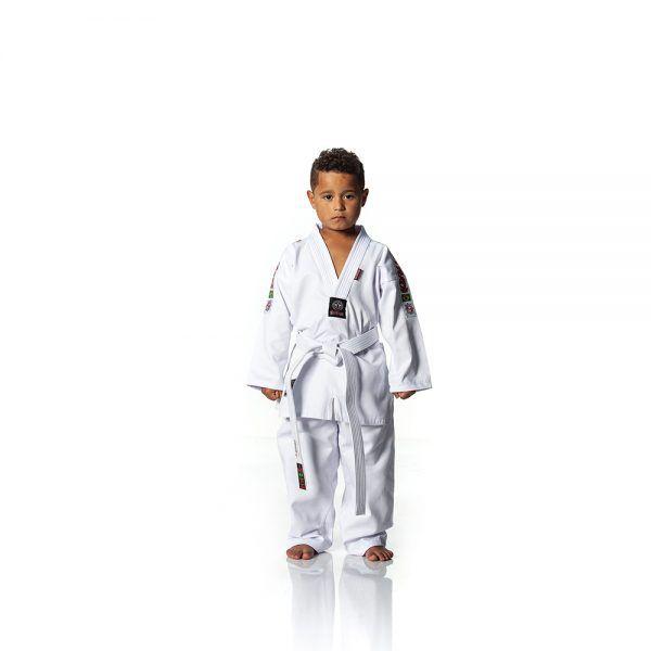 Dobok / Kimono Taekwondo Start - Branco - Infantil- Shiroi  - Loja do Competidor