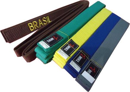 Faixa Colorida Artes Marciais - Bordada Brasil - Adulto - MKL .