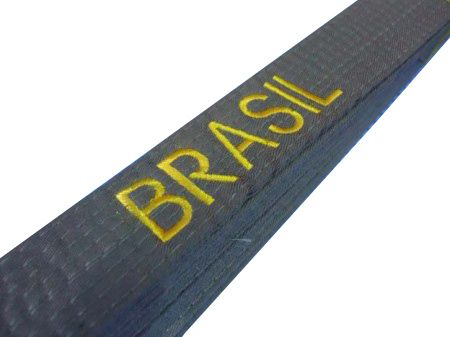 Faixa Colorida Artes Marciais - Bordada Brasil - Adulto - MKL  - Loja do Competidor