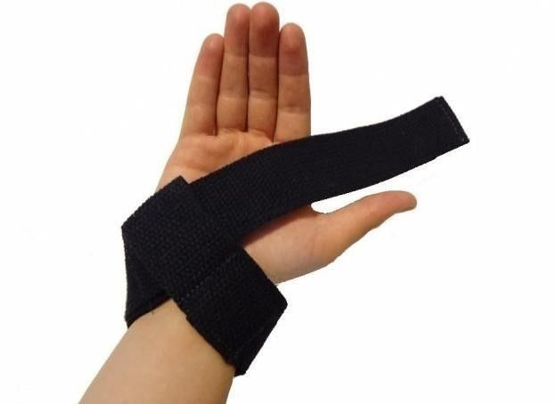 Fita Straps de Pegada - Musculação/Crossfit - Stronger - Par  Prottector -