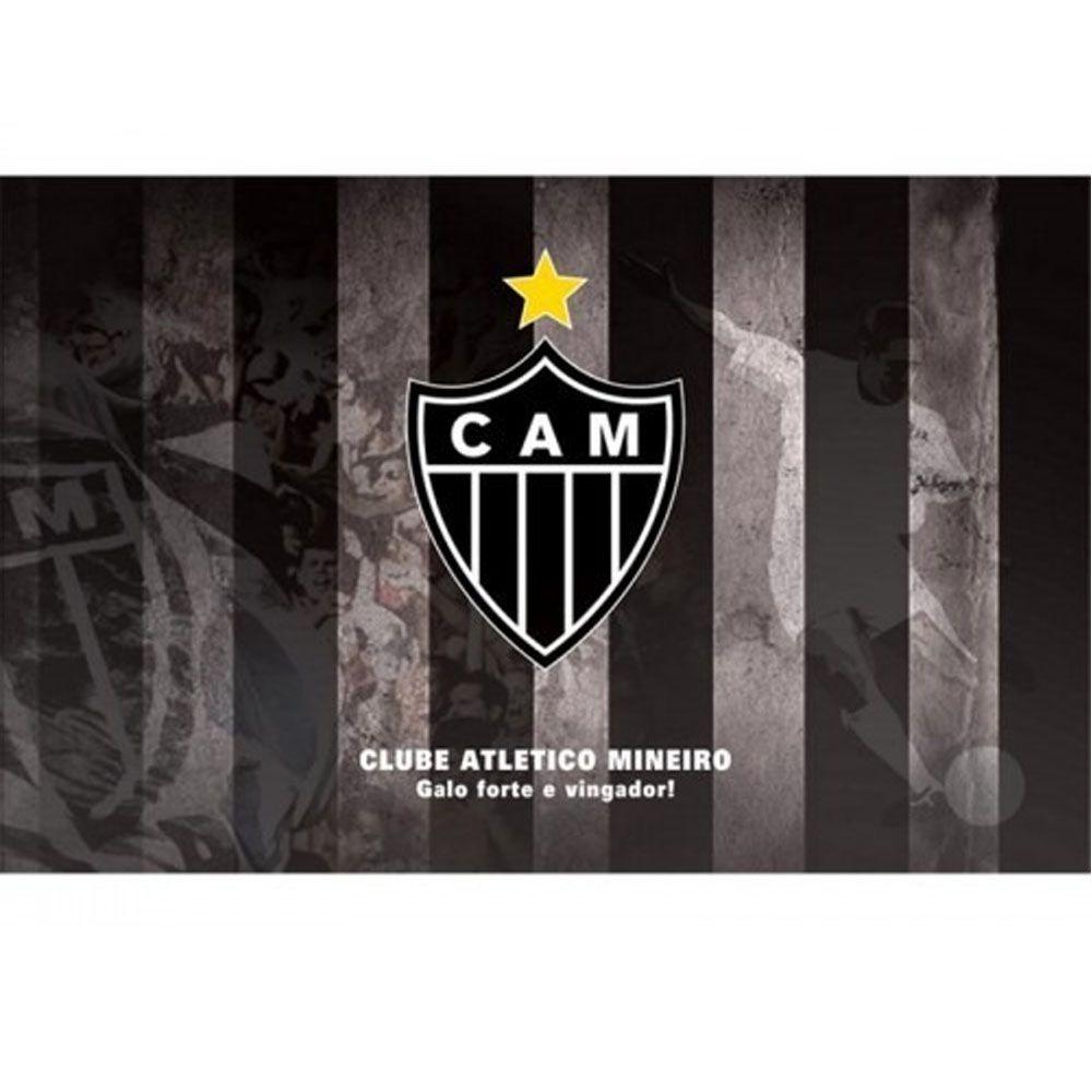 Jogo Americano - 3D - 4 Peças - Atlético Mineiro - Mileno