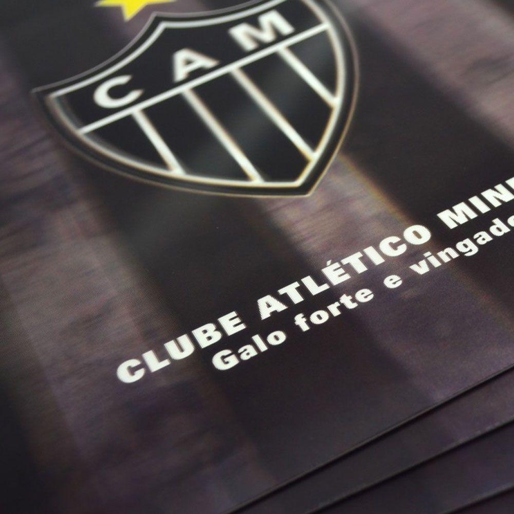 Jogo Americano - 3D - 4 Peças - Atlético Mineiro - Mileno  - Loja do Competidor